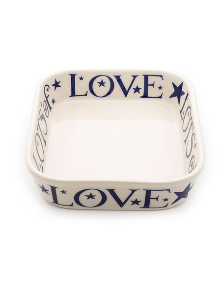 EMMA BRIDGEWATER LOVE BAKING DISH