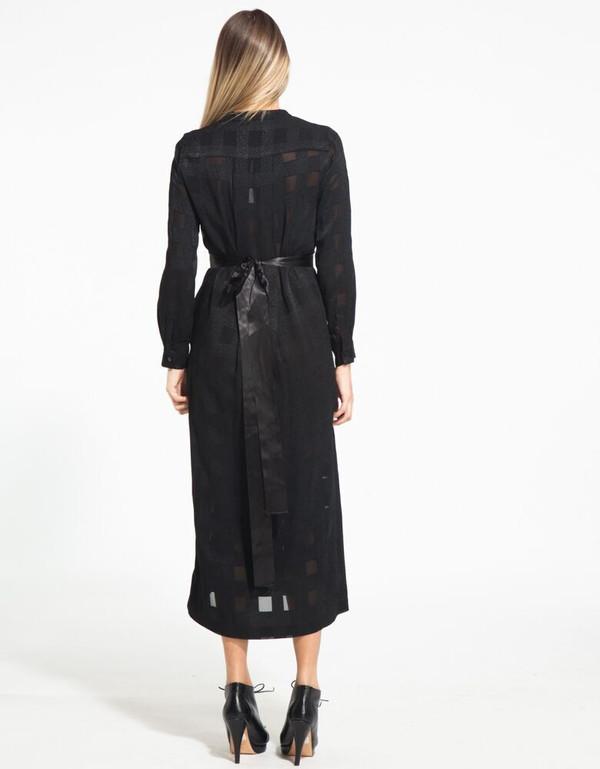 RODEBJER KOLLUM BLACK DRESS