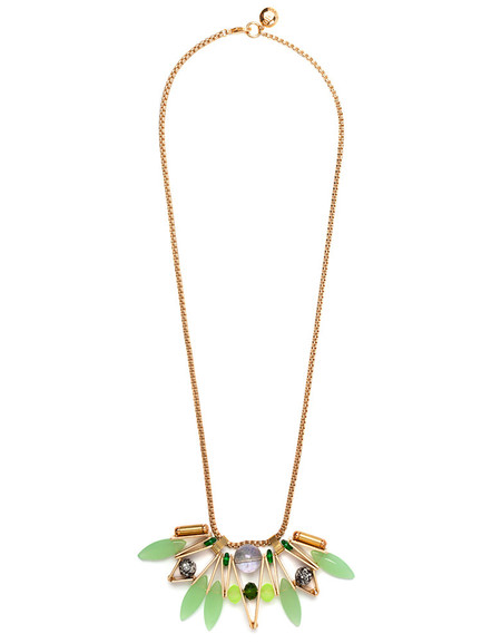 SCHO SUMMER CAKE PIECE  NECKLACE