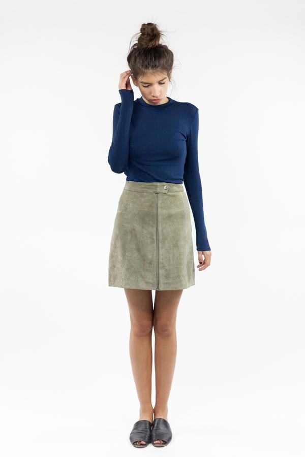 just female Alex Blouse - Dress Blue