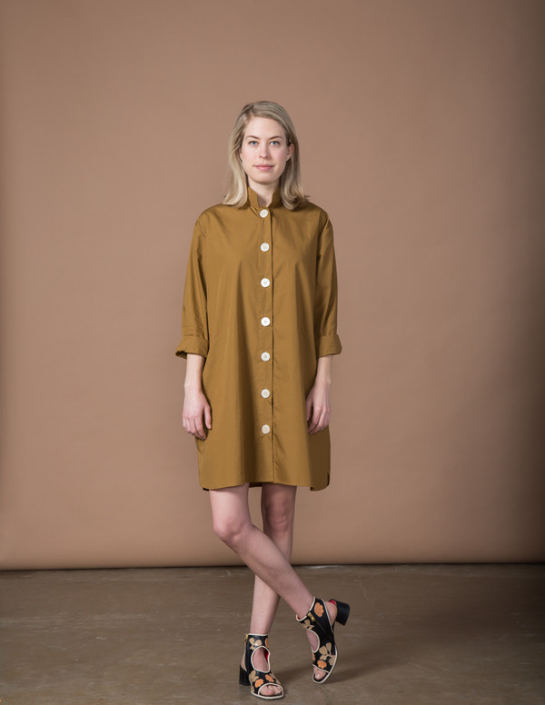 SBJ Austin Stacey Dress - Mocha