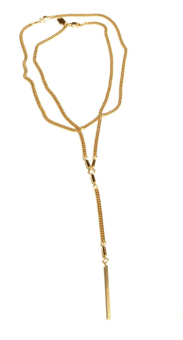 ALYNNE LAVIGNE - Y-Chain Necklace