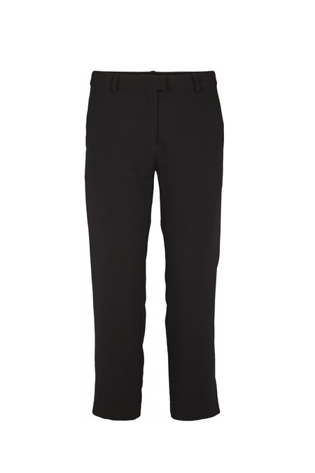 Just Female Tidy Cropped Pants | Black