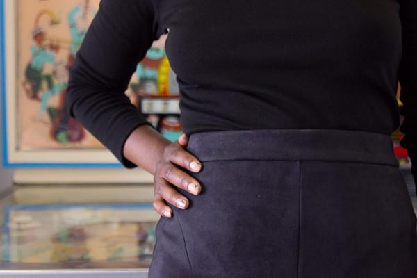 Valérie Dumaine Hilma Skirt (Black)
