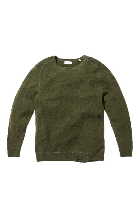 Men's Saturdays Surf NYC Kasu Knit Shirt | Jade
