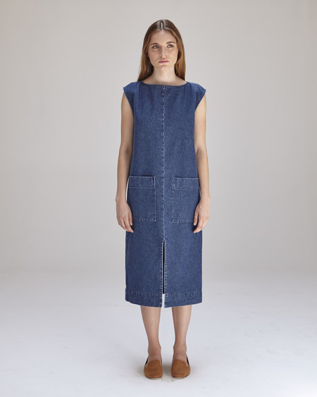 Ilana Kohn Lilly Dress in Denim