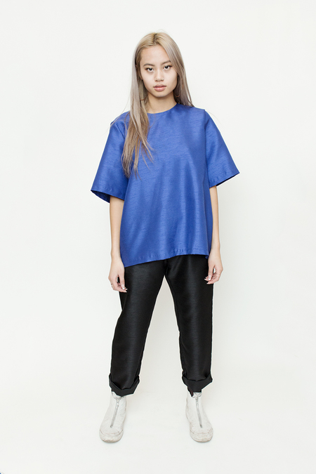Bodega Thirteen - FW16 New Dylan Top Cobalt
