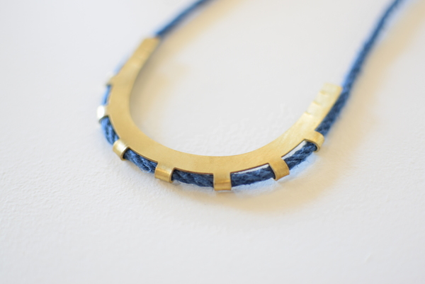 Lumafina Azur Arc Necklace
