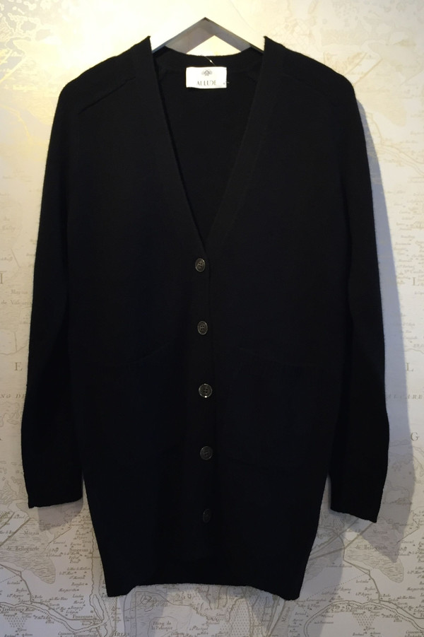Allude Luxe cashmere cardigan