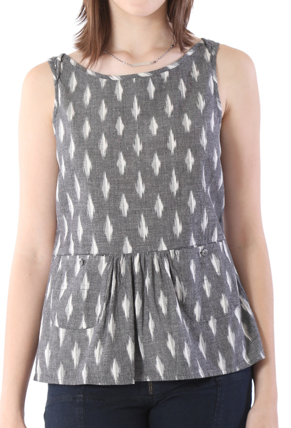 THE ODELLS Peplum Tank