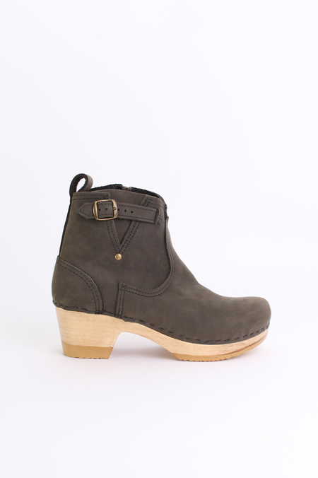 "No.6 Store 5"" buckle boot in storm"