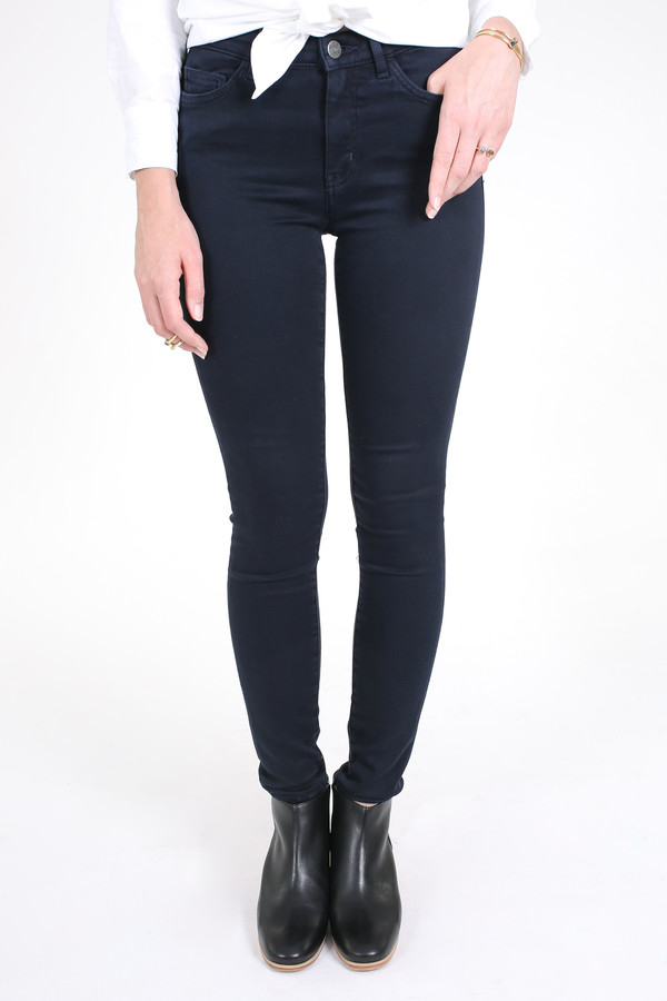 M.i.h Jeans Bodycon jean in blue black