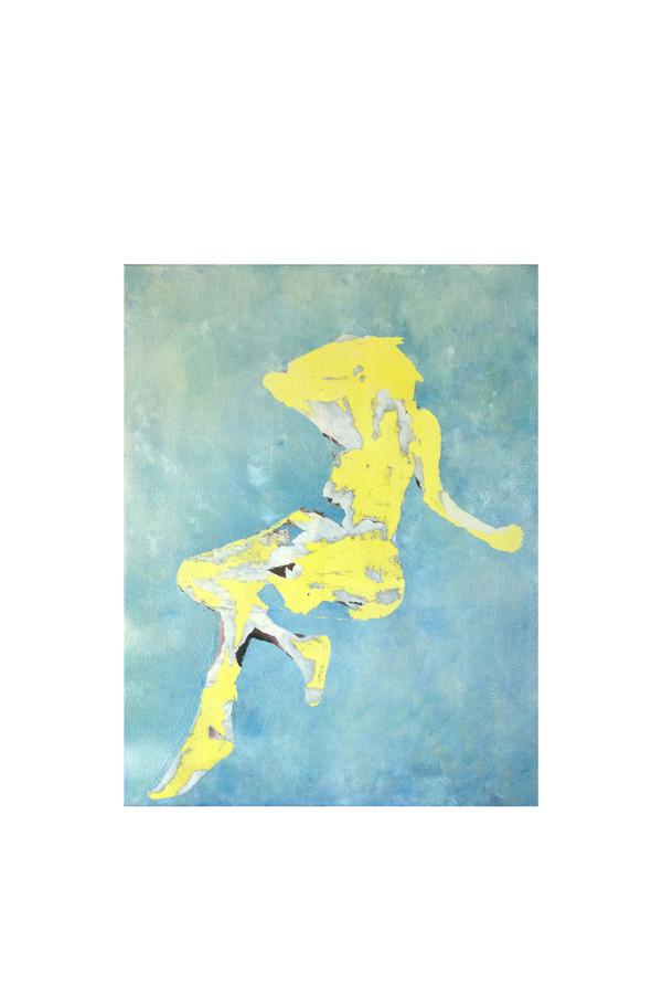 Kristin Linton Falling painting