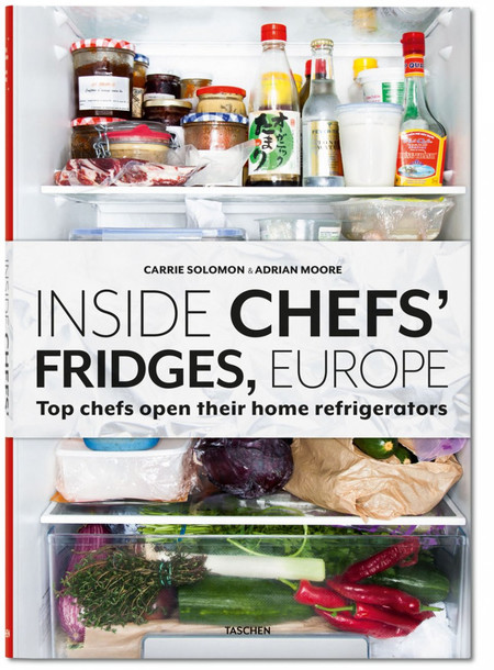 Taschen Inside chefs fridges Europe hardcover