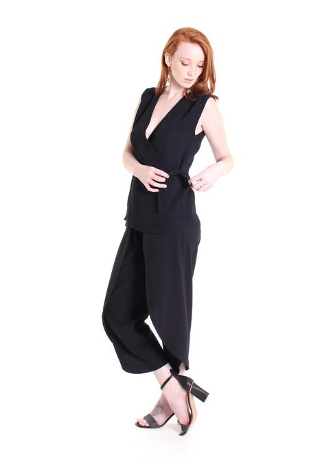 Silvae Korsmo top in black