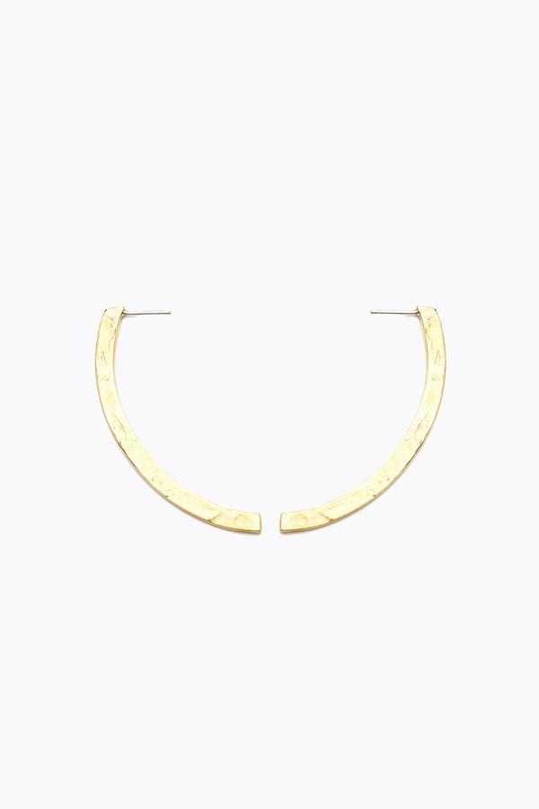 Odette New York Lewitt earrings in brass