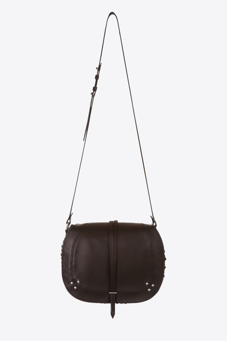 Jerome Dreyfuss Nestor crossbody bag in black/silver