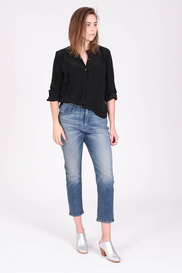 The Podolls Pullover top in black