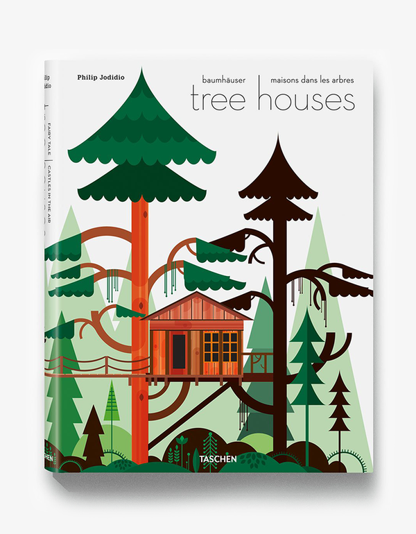 Taschen Tree houses fairy tale castles in the air hardcover