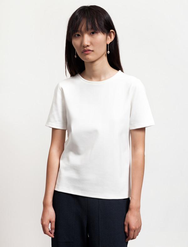 Lemaire Womens Tee-Shirt White