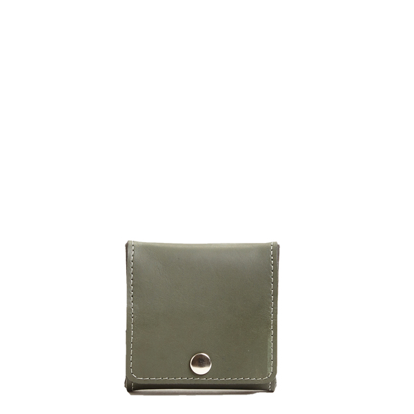 Coin Square Leather Forest