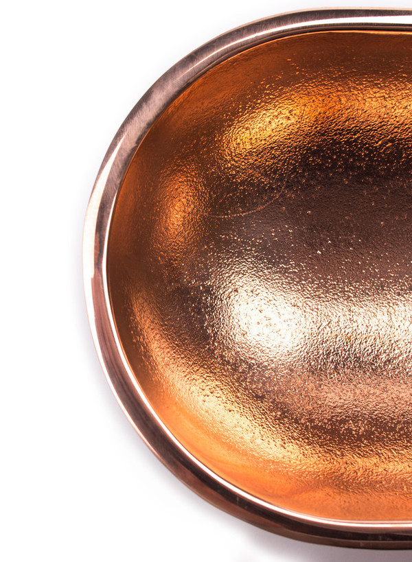 Fort Standard Large Standing Bowl Copper