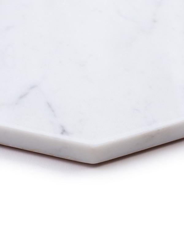 Fort Standard White Marble Platter