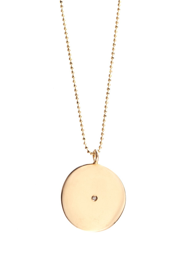 Ariel Gordon Circle Pendant Necklace
