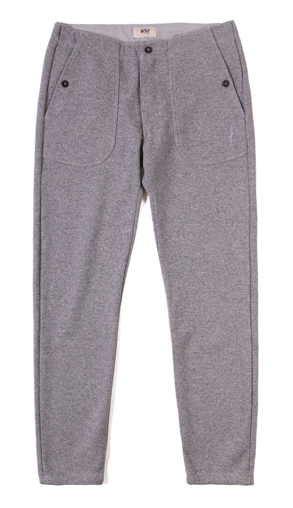 Lightning Bolt Wool/Cotton Pants