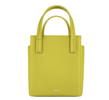 Lime Yellow Steady Mini Bag by Vasic