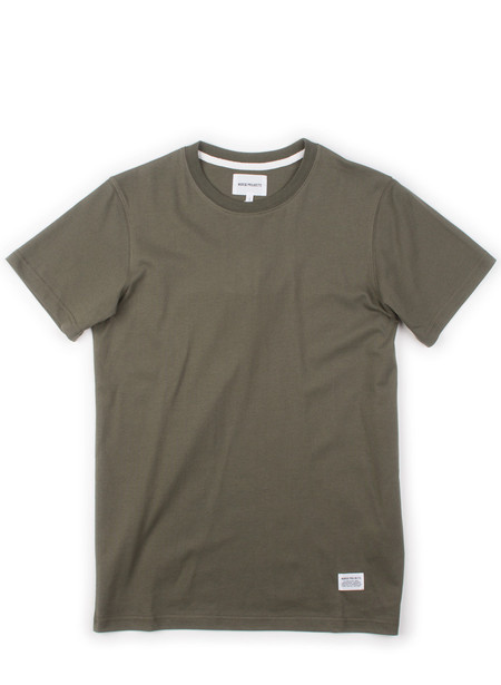 Norse Projects Niels Basic SS Dried Olive