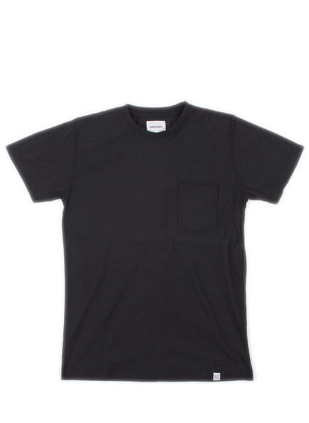 Norse Projects Niels Pocket Boucle Black