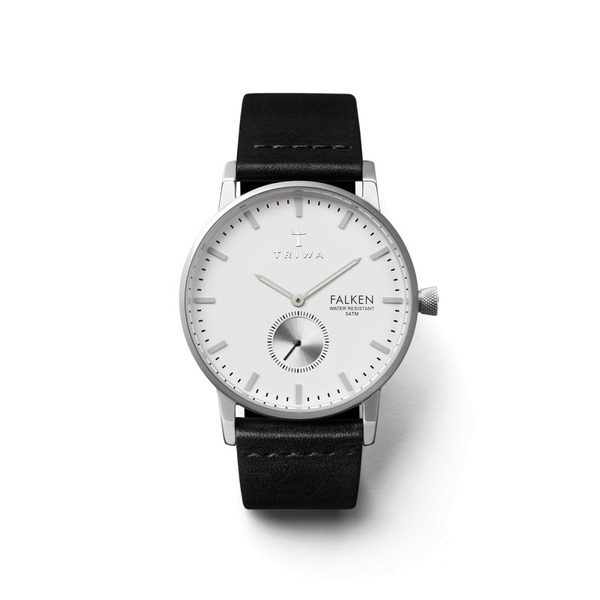 Triwa Ivory Falken Black Classic Watch