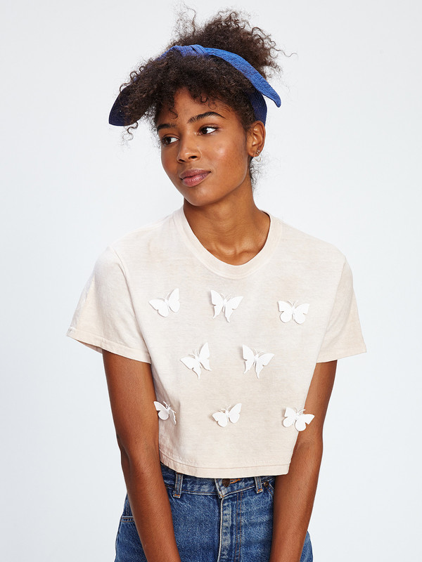 ALL OVER BUTTERFLY TEE