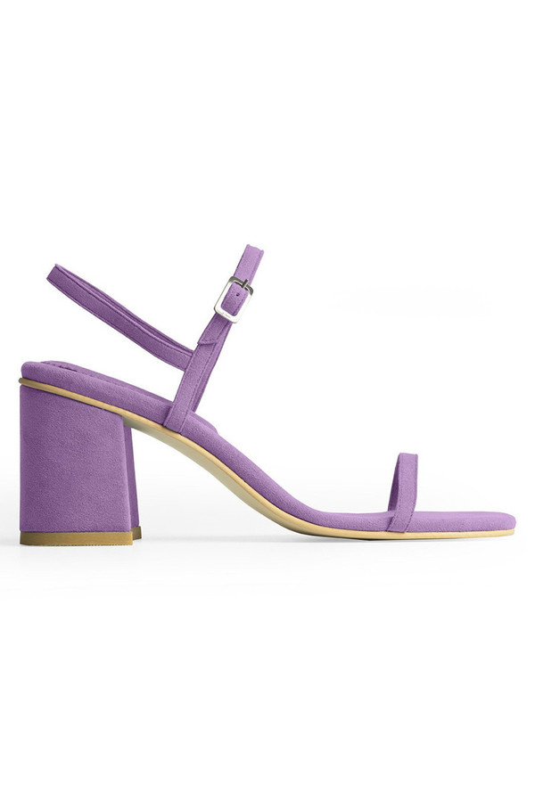Rafa The Simple Sandal - Heliotrope