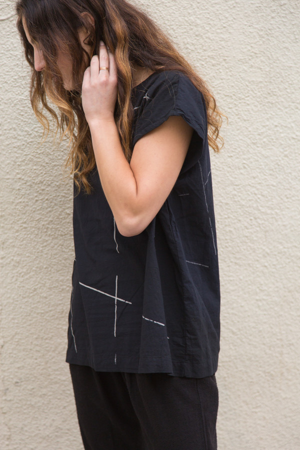 Uzi NYC uzi beams tunic
