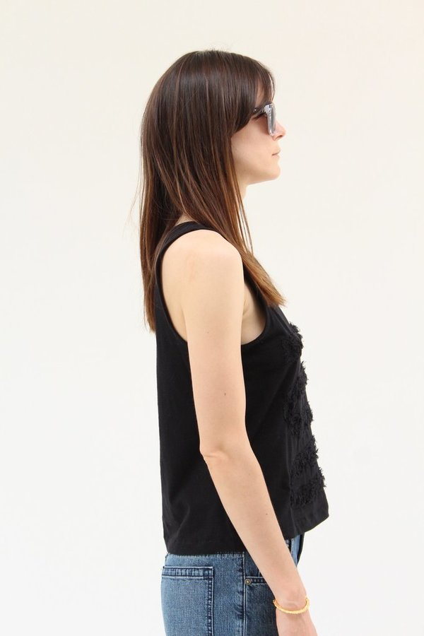 Correll Correll One Line Boucle Tank Black