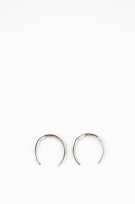 Gabriela Artigas 14K White Gold Mini Rising Tusk Earring Set