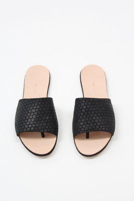Palatines Caelum Slide Sandal Black Hex