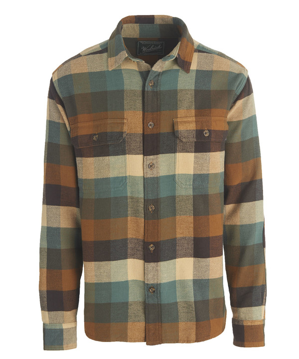 Men's Woolrich - Oxbow Bend Flannel - Chicory