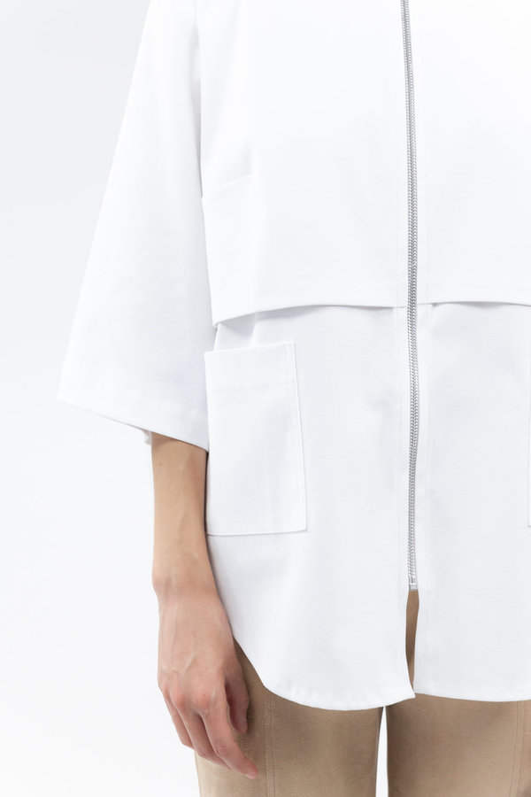 House of Sunny Up Shirt - Clean White