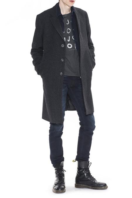 Men's Nudie Jeans Waldo Recycled Wool | Black/Blue