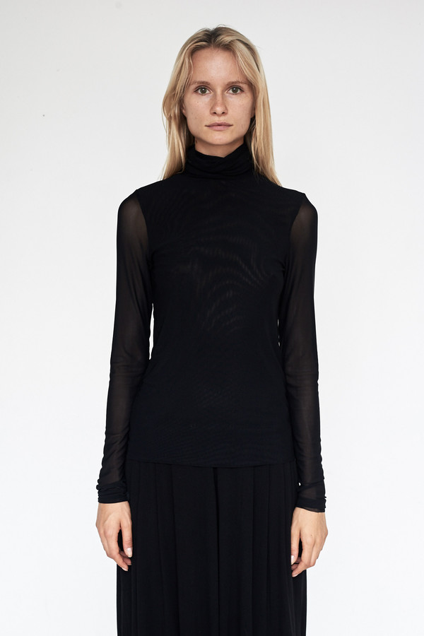 Assembly New York Nylon Power-mesh Turtleneck