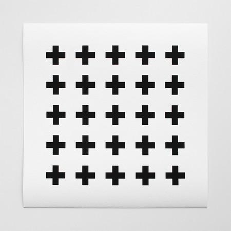 Barclay Haro Art Concepts Plus Sign Motif