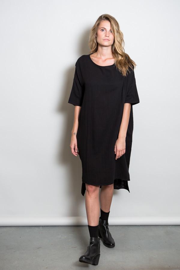Oak Wide Gauze Dress