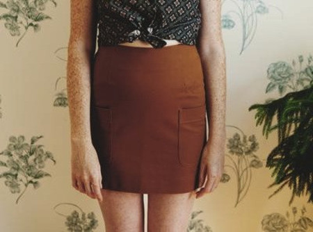 Betina Lou Barbara Skirt - Hazelnut