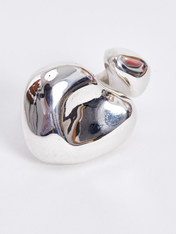 FARIS FLOAT RING / STERLING SILVER