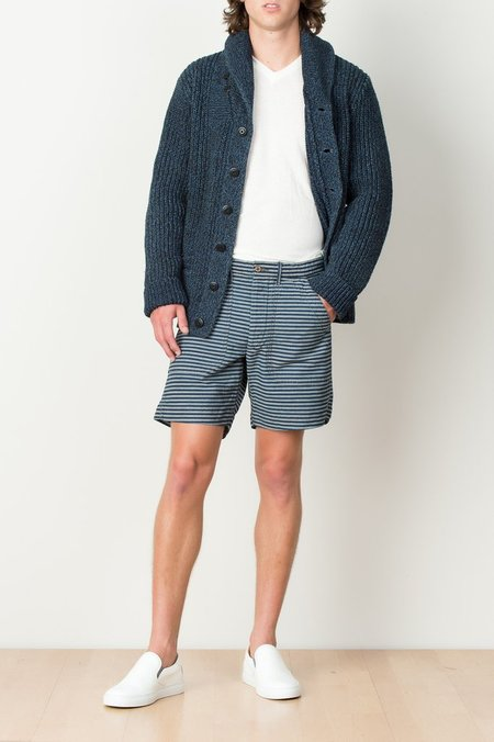 Men's RRL - Cotton Striped Short