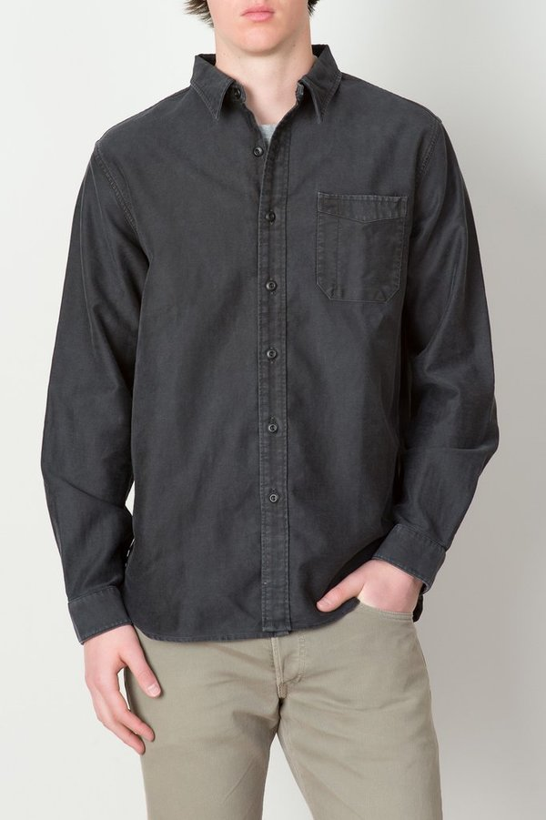 Men's RRL - Cotton-Linen Sateen Workshirt