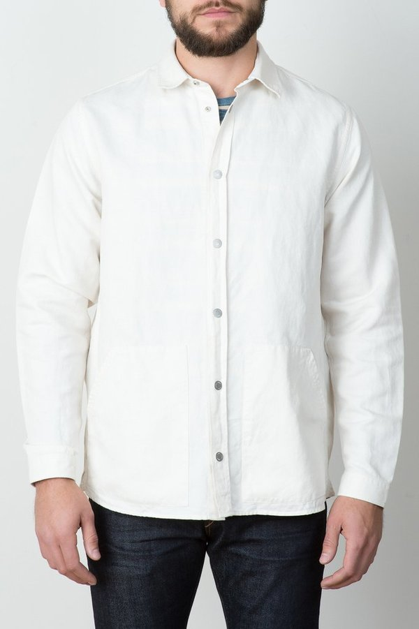 Men's Norse Projects - Jens Cotton Linen Broken Twill